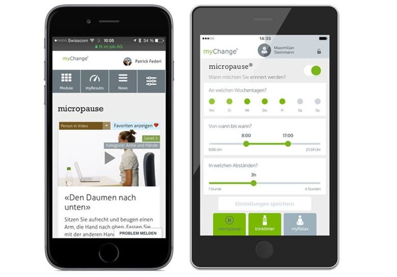 fit im job myChange-App